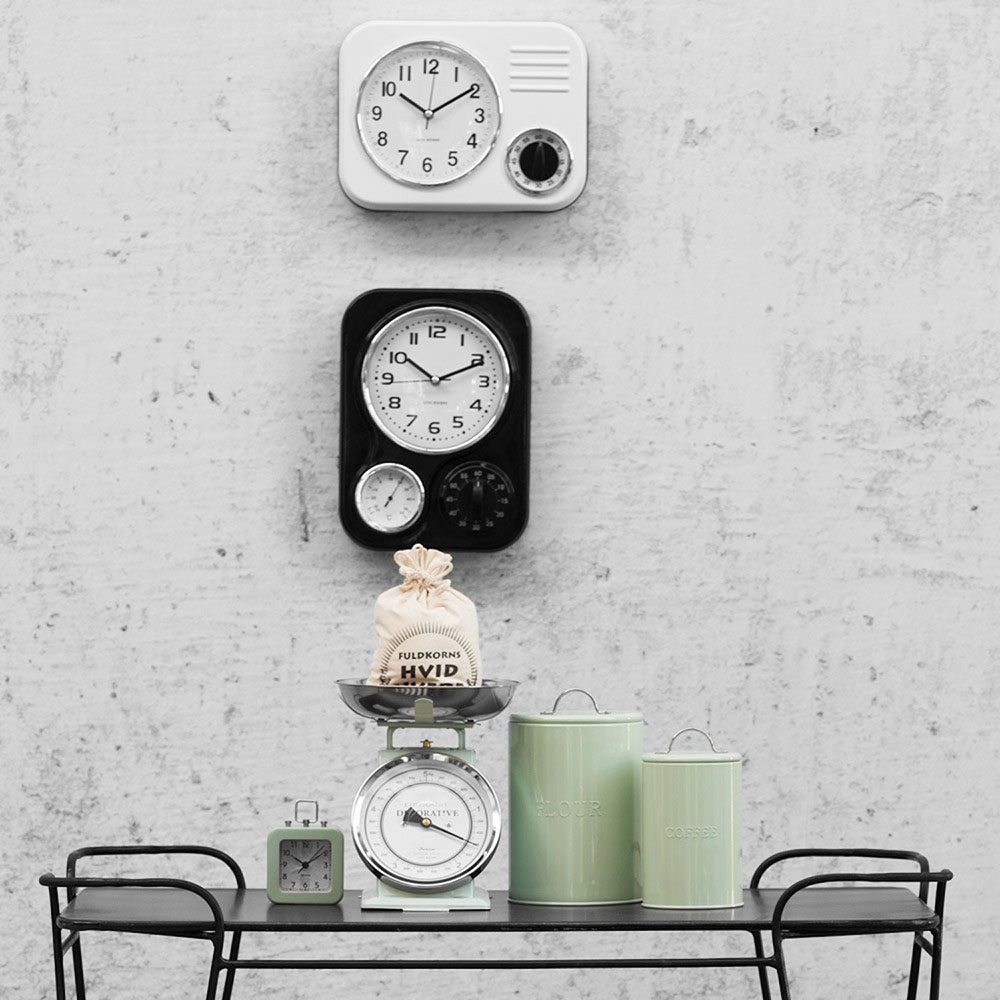 relojes de pared modernos metal retro