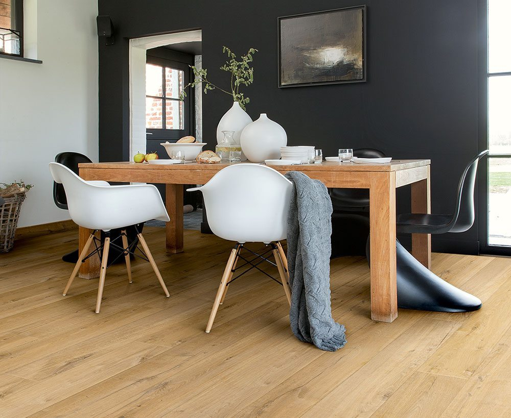 suelo laminado roble natural quickstep