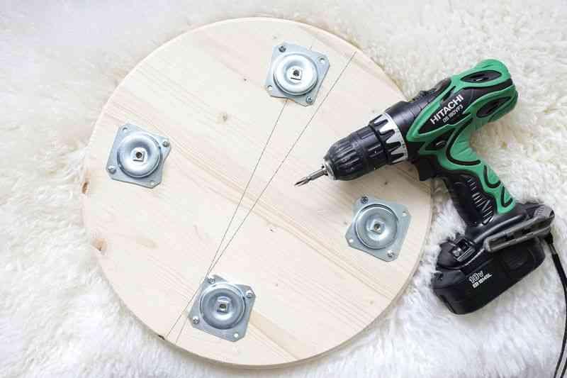 como hacer un taburete taladro