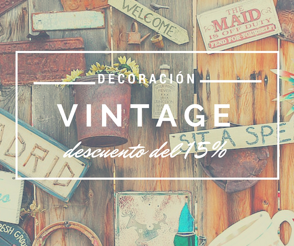 10 complementos vintage de decoraci n para tu hogar con for Ideas decoracion vintage