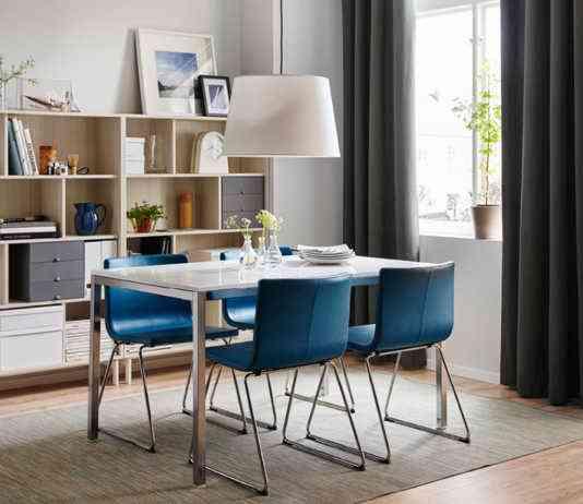 4 claves para elegir las sillas del comedor