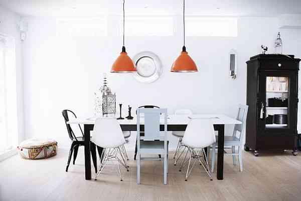 elegir las sillas del comedor pure inspiration neutro
