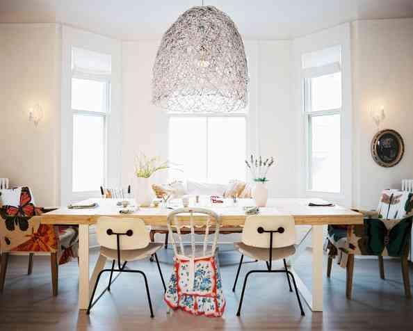 elegir las sillas del comedor residence style Mix match