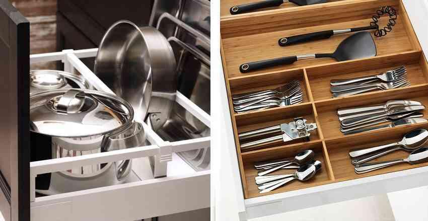 espacio de almacenaje en tu cocina accesorios ikea