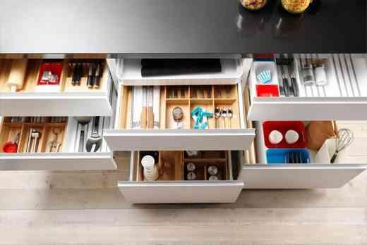 espacio de almacenaje en tu cocina ikea cajones