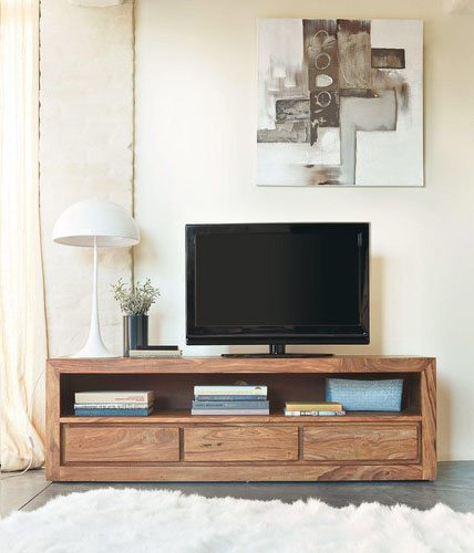 estilo contemporaneo mueble tv maisons