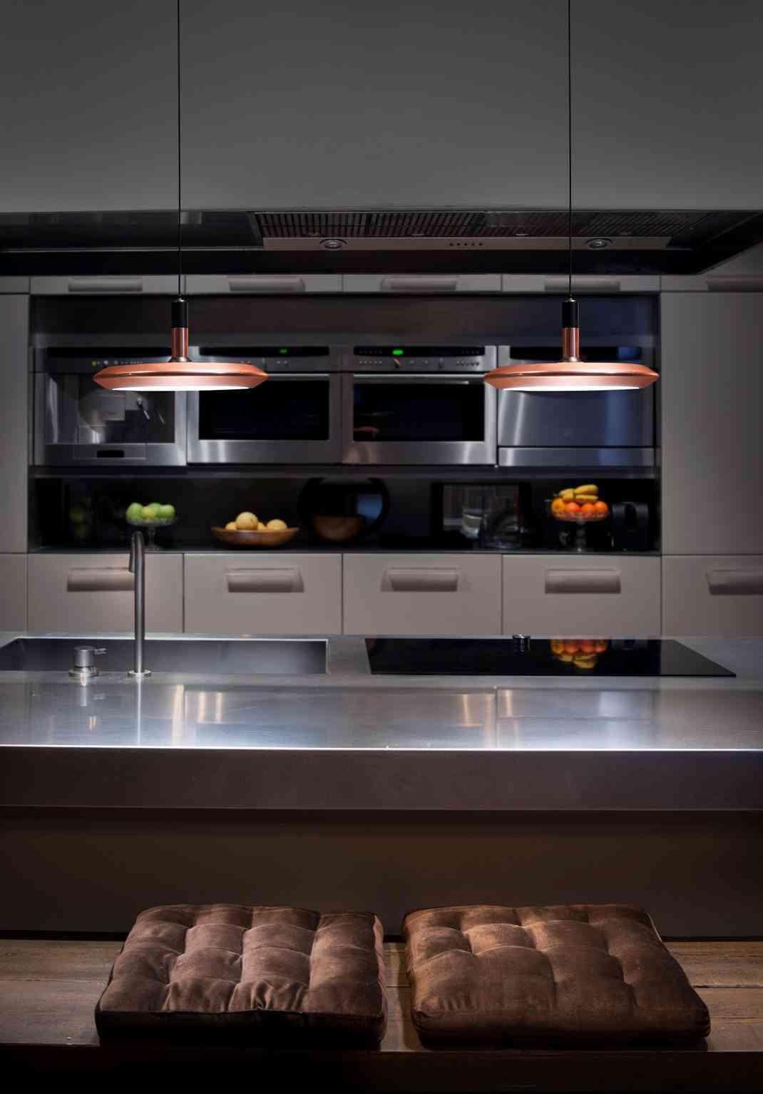 lámparas planet integradas en tu cocina