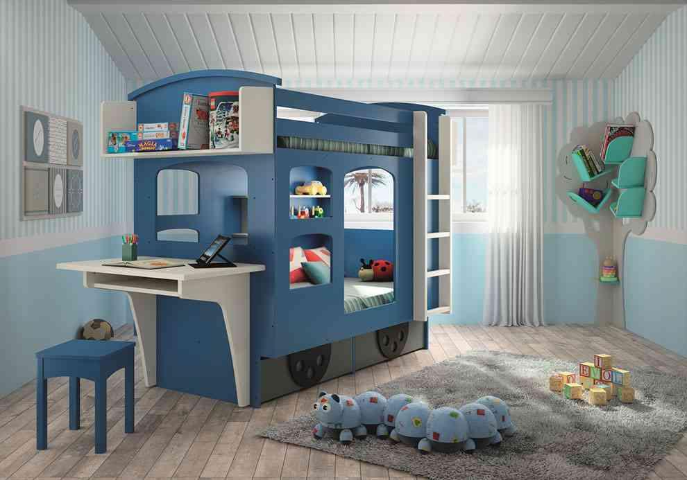 De 30 fotos de dormitorios para ni os y habitaciones - Imagenes dormitorios infantiles ...