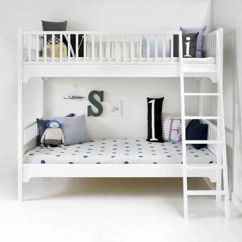 Las mejores literas para dormitorios infantiles - Quitamiedos para literas ...