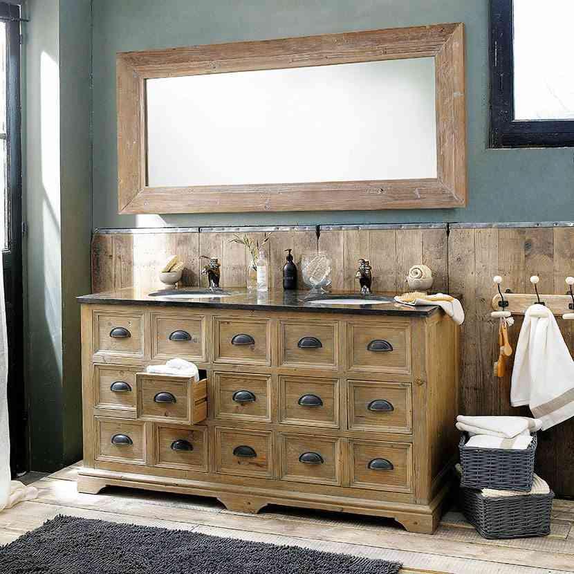 mueble para el cuarto de bano maisons cajones