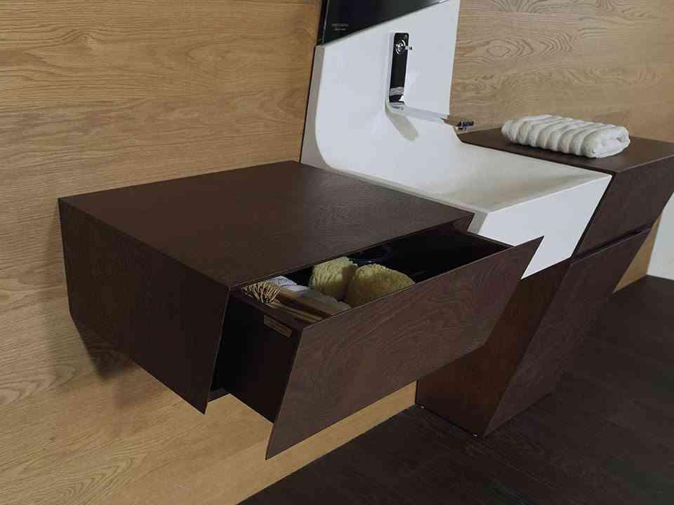 mueble para el cuarto de bano porcelanosa almacenamiento