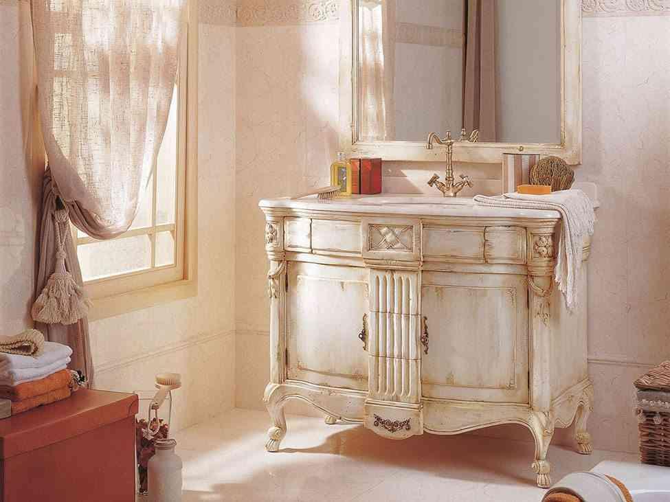 mueble para el cuarto de bano porcelanosa clasico