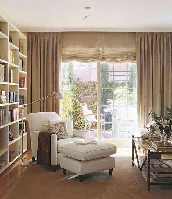 Ideas para crear tu rinc n de lectura en casa - Como hacer unas cortinas para el salon ...