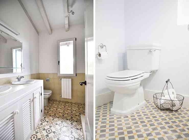 5 suelos para el cuarto de ba o decorativos y pr cticos - Baldosas gresite para banos ...