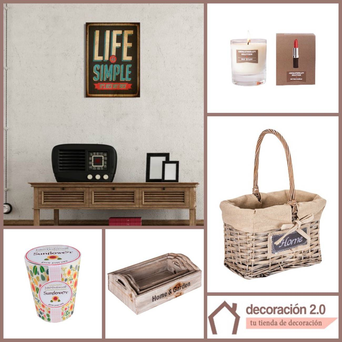 7 ideas para decorar una casa con poco dinero for Paginas decoracion online