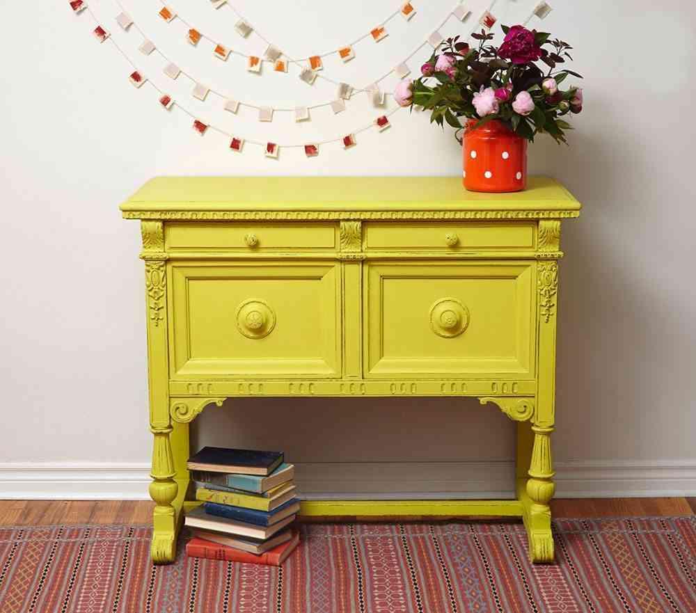 Trucos Pr Cticos A La Hora De Usar Chalk Paint # Muebles Efecto Lavado