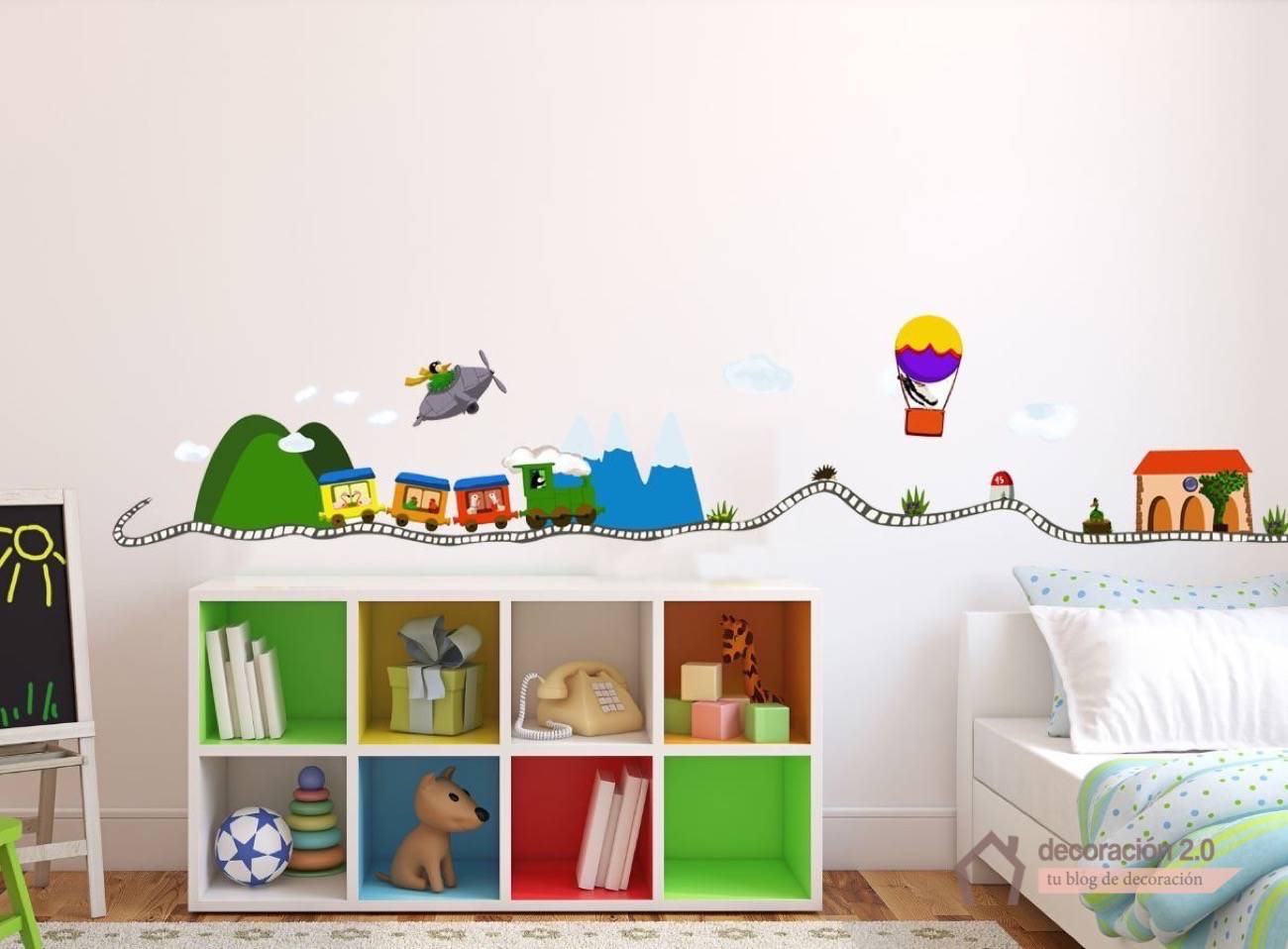 5 ideas diy para decorar nuestras habitaciones infantiles for Ideas para decoracion habitaciones infantiles