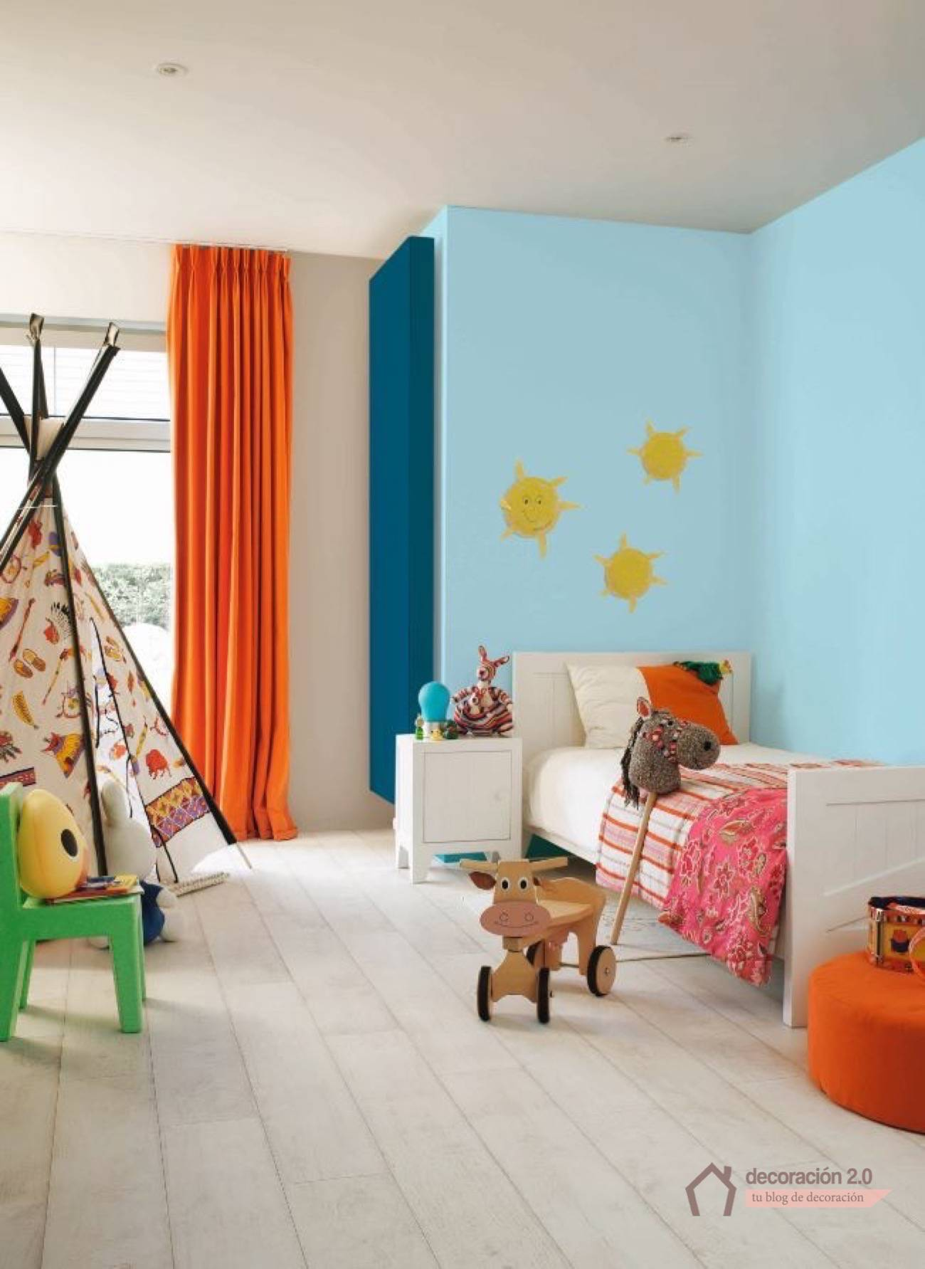 5 ideas diy para decorar nuestras habitaciones infantiles for Pared habitacion infantil