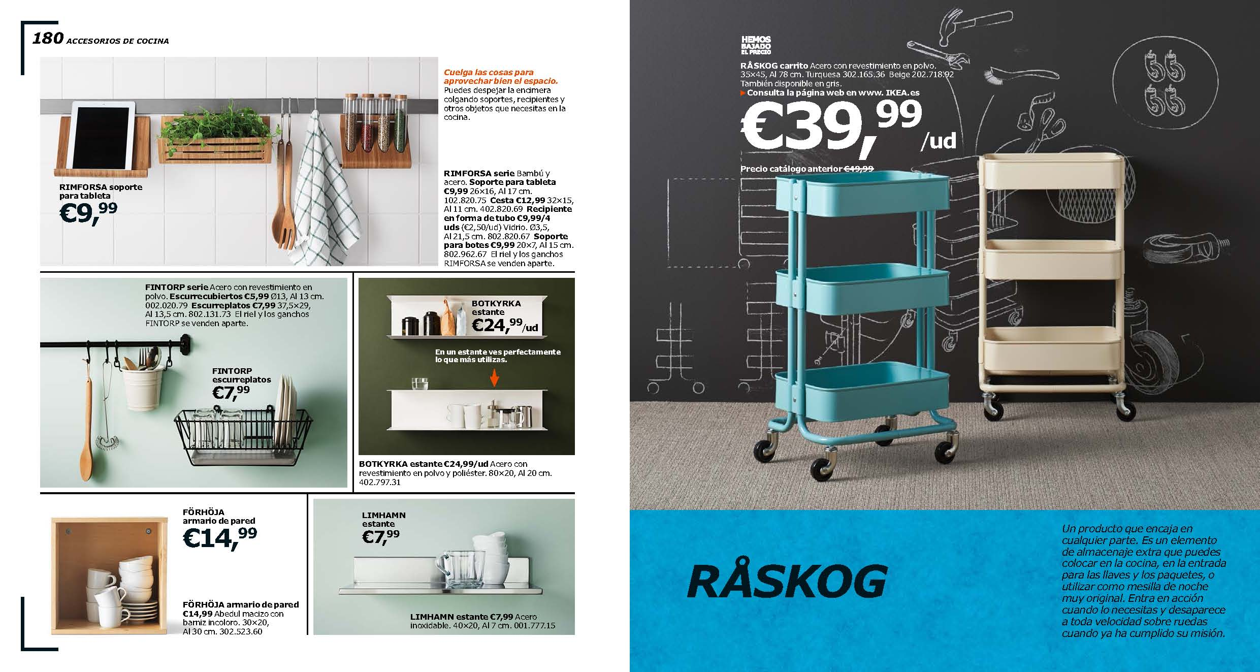 catalogo decorar con ikea espage