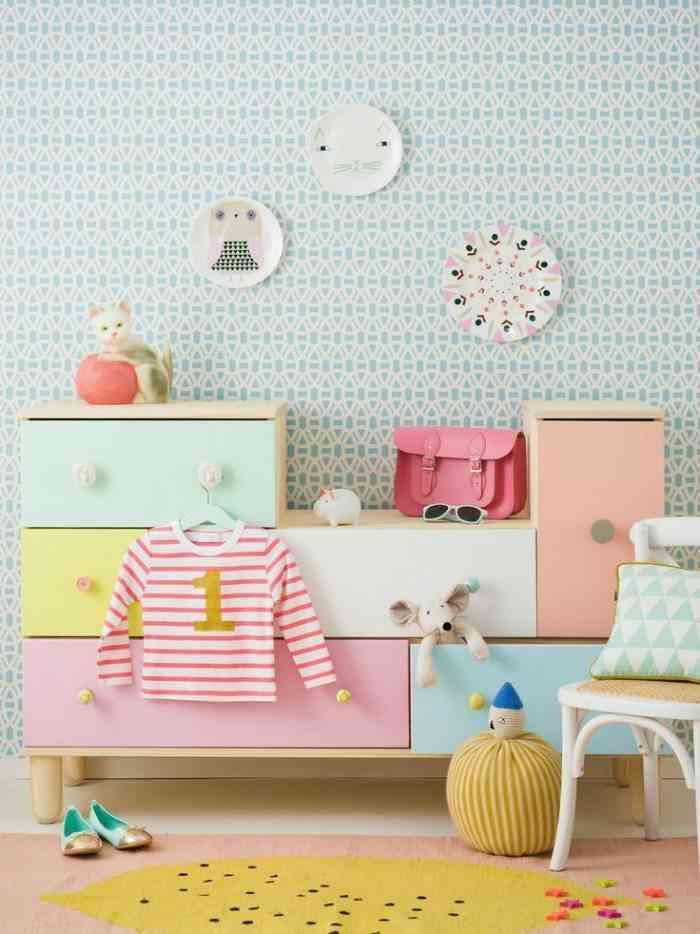 decoracion infantil para el verano designbuildideas pastel retro