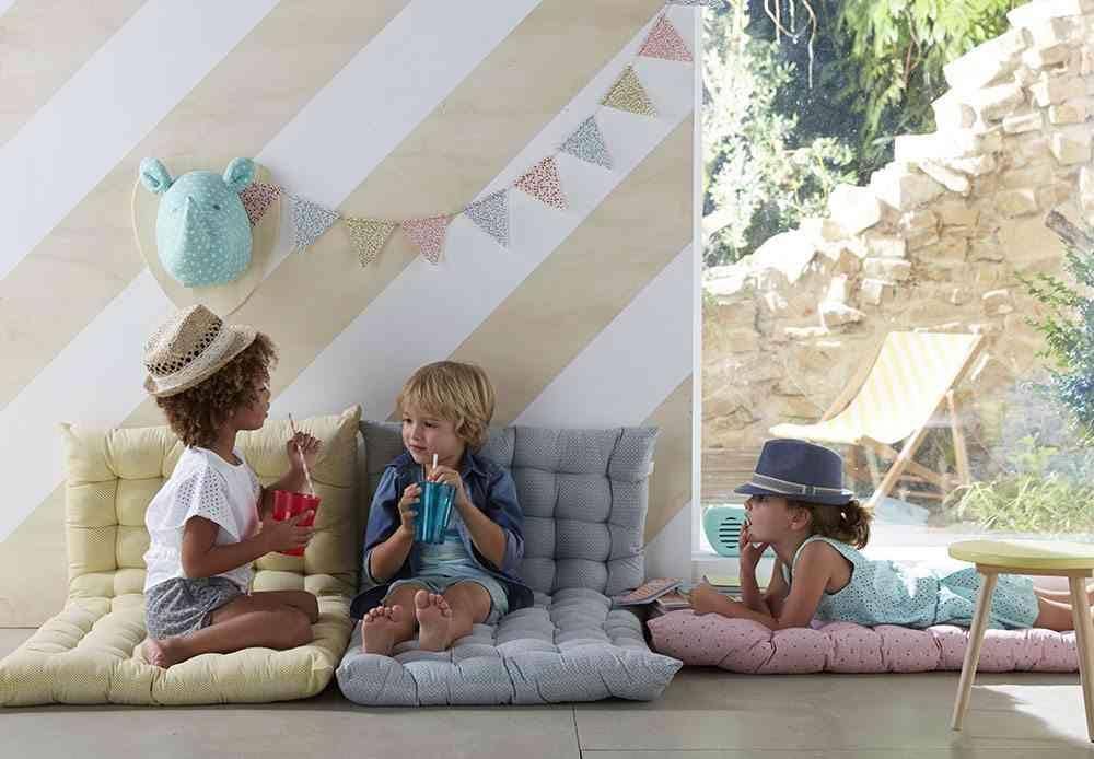 decoracion infantil para el verano vertbaudet Colchonetas