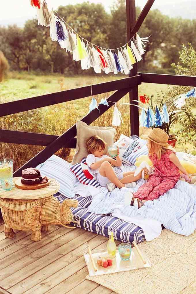 decoracion infantil para el verano zara colchon