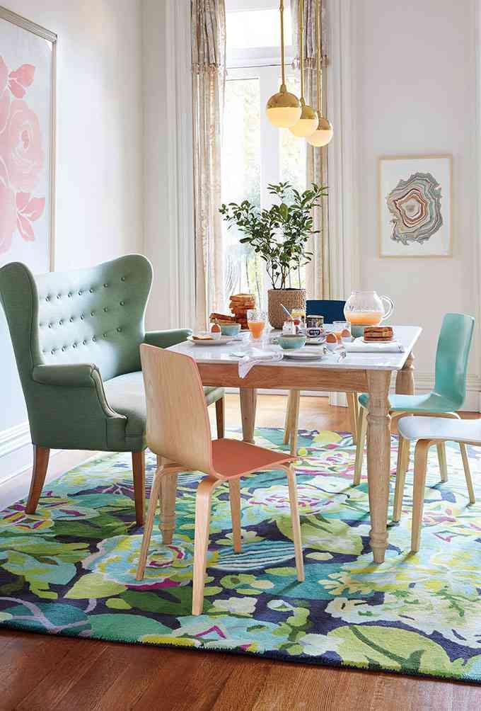 estilos de alfombras anthrohome floral