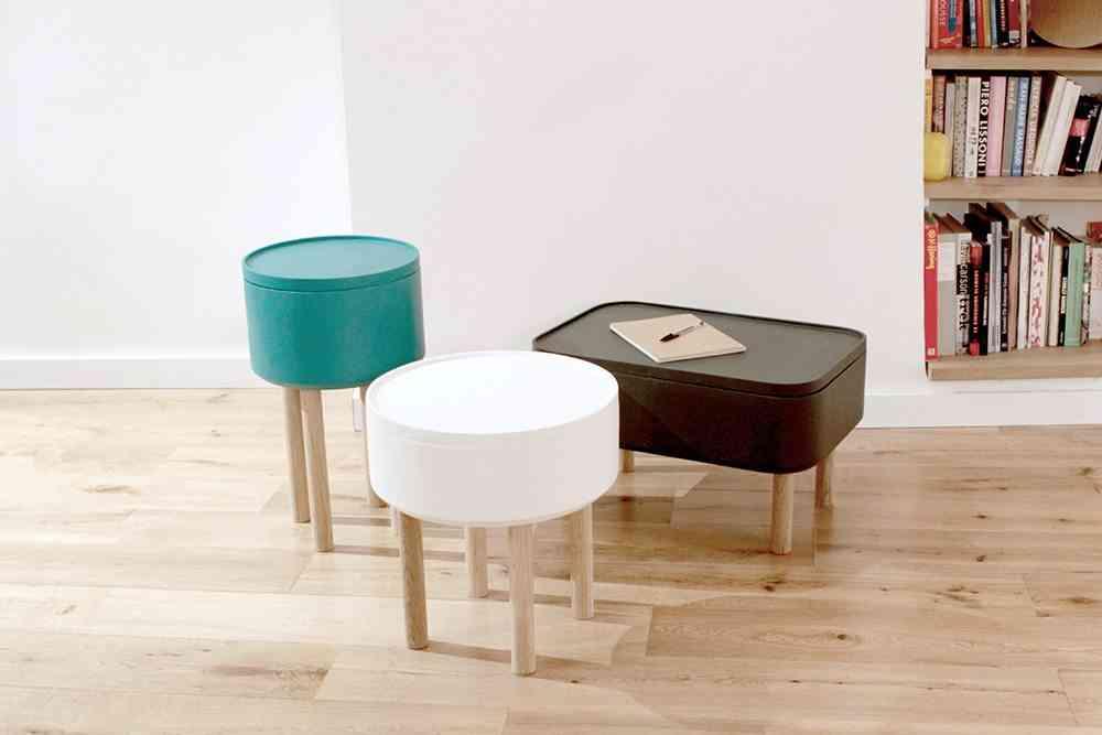mesa auxiliar para el sofa Ensemble de HAT