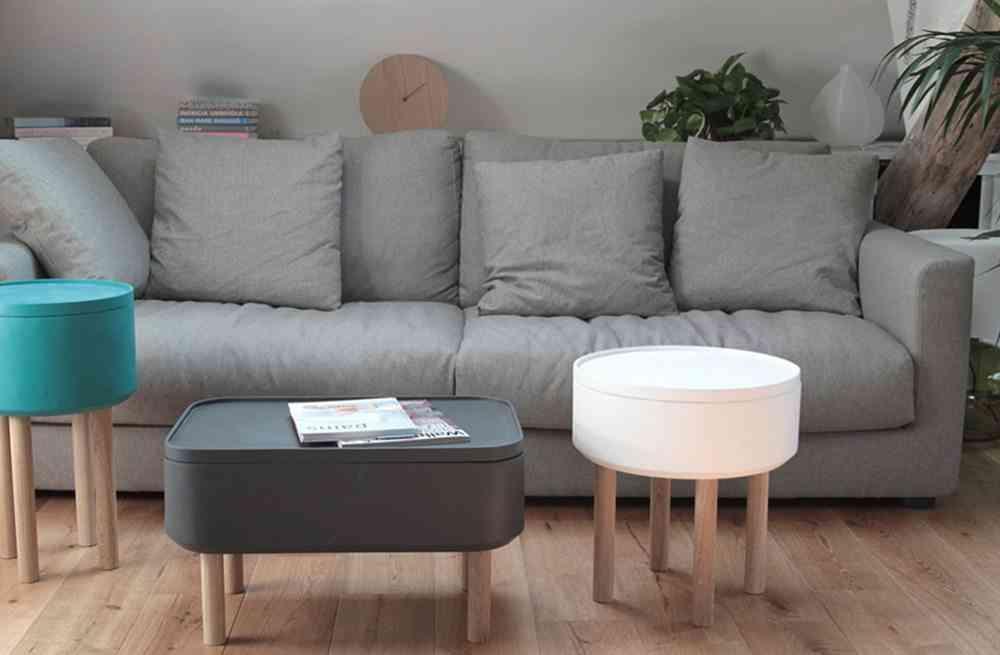mesa auxiliar para el sofa hat