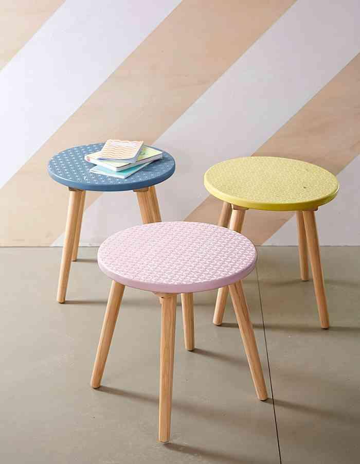 mesa auxiliar para el sofa vertbaudet