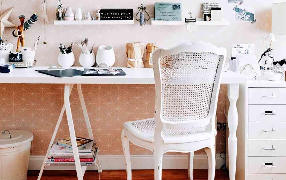 rincon de trabajo en casa rincon blanco ikea