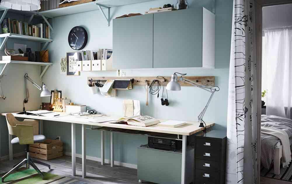 Ikea espacios de trabajo awesome y diseadores en diseo de - Espacios de trabajo ikea ...