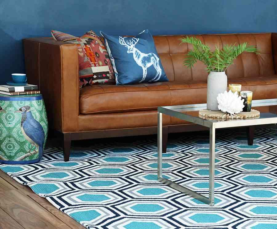 sofa de cuero ecochic