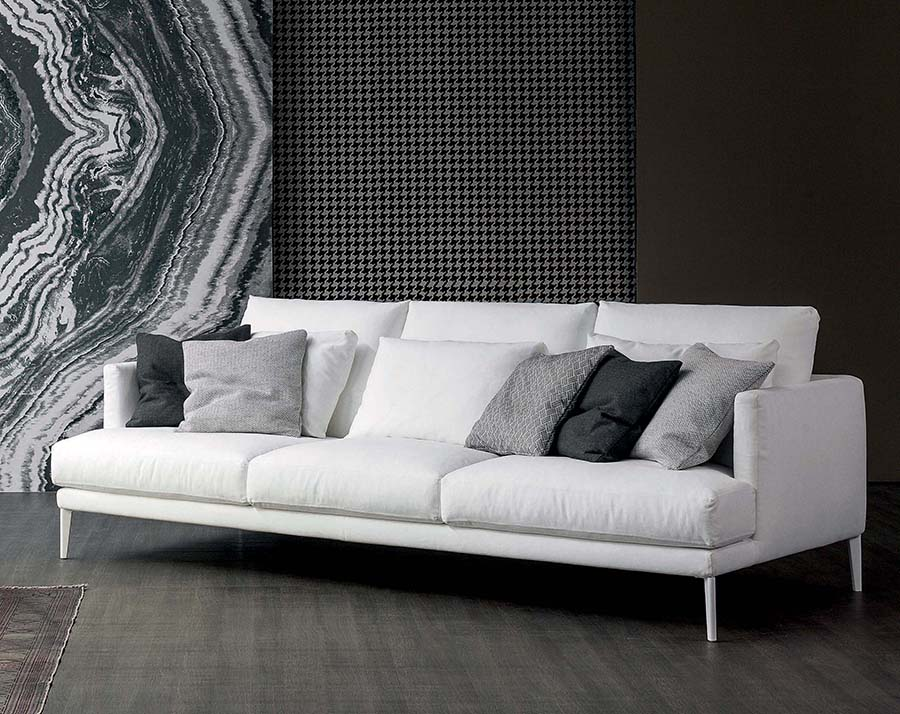 sofa de cuero go modern