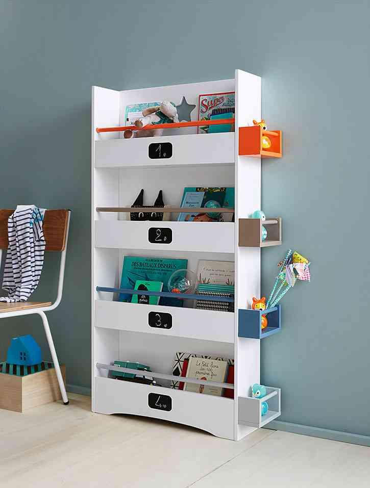Estanterias para dormitorios infantiles imagen with - Estanterias infantiles originales ...