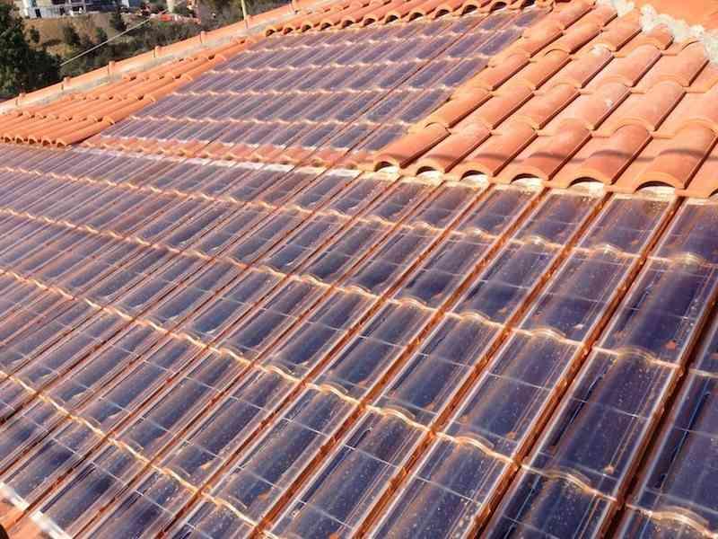 tejas solares - techtile