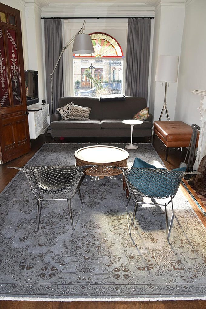 alfombra vintage kilim