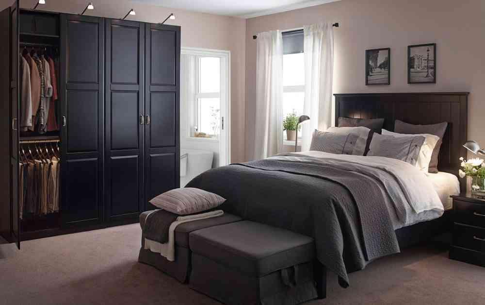 armario modular ikea negro