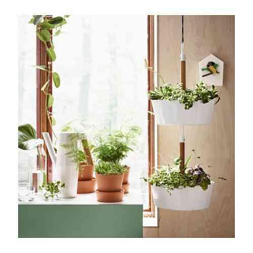 maceteros de Ikea - Macetero colgante BITTERGURKA