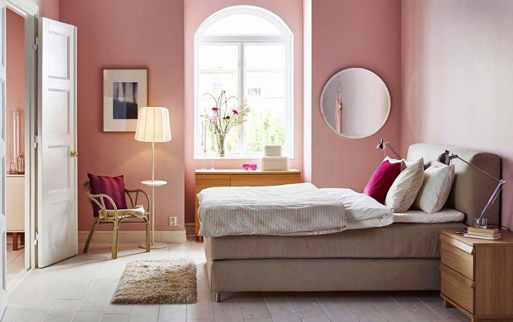 4 colores para decorar el dormitorio y triunfar - Ikea decoracion paredes ...
