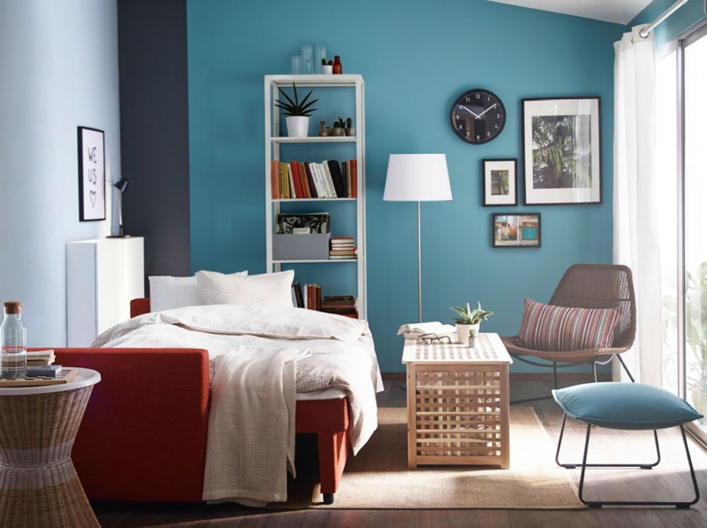 4 colores para decorar el dormitorio y triunfar for Decoracion de habitaciones ikea