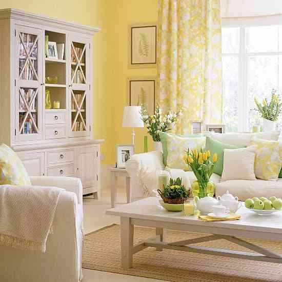 combinar colores amarillo
