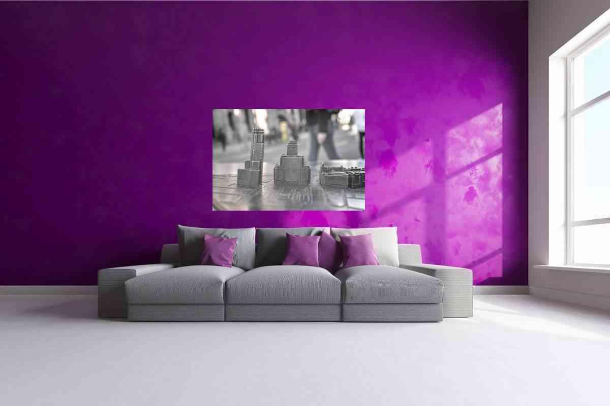 Cuadros de fotografías - cuadro de aluminio Madrid 2- CU05