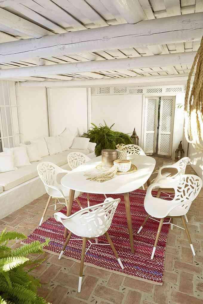 decoracion de espacios al aire libre lm comedor