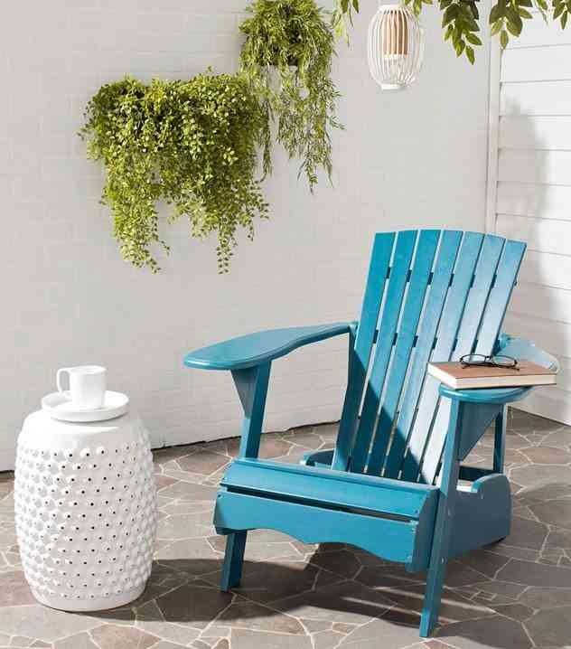 decoracion de espacios al aire libre westwing silla