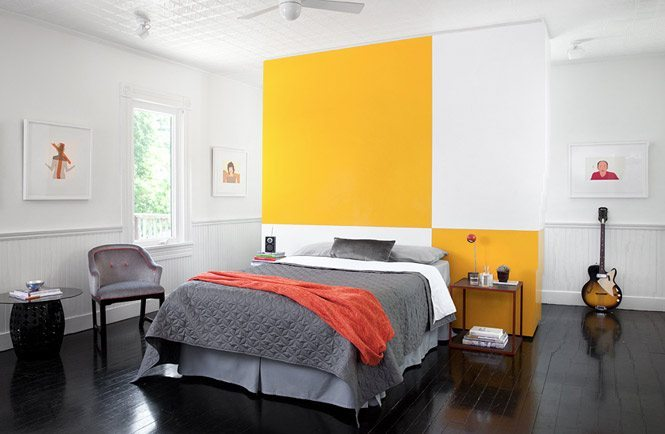 decoracion en amarillo home designg dormitorio