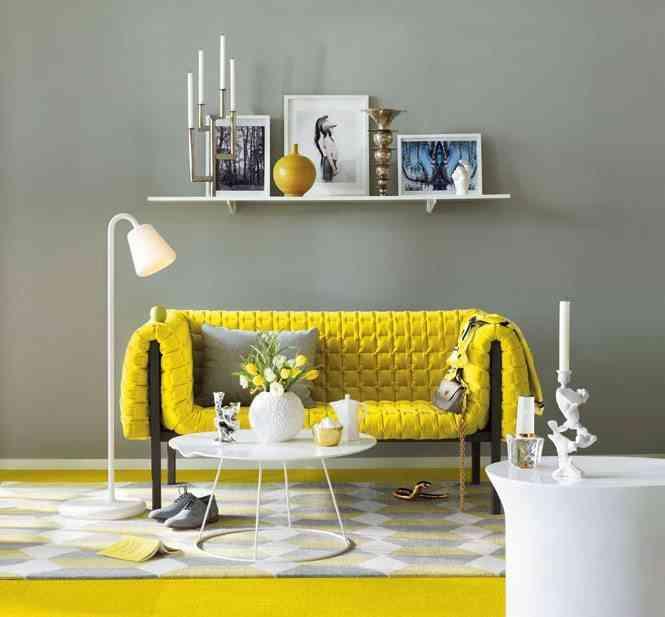 decoracion en amarillo home designing vintage