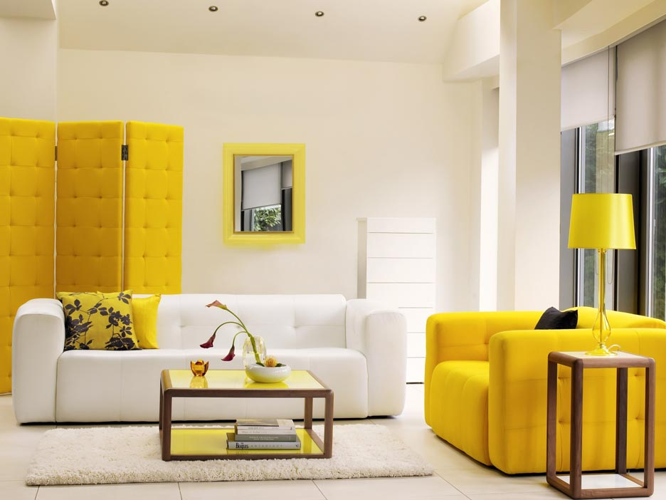 decoracion en amarillo home designing yellow