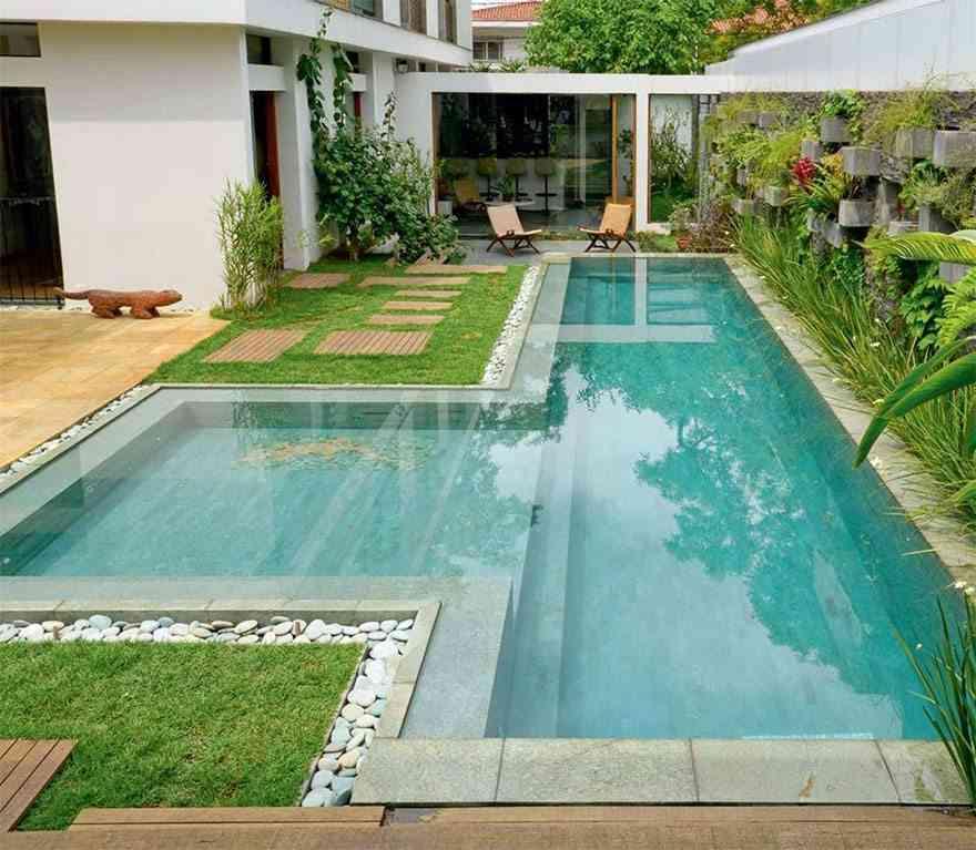 limpiar una piscina - el jardin de tus suenos draw piscina