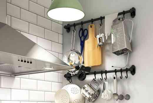 espacio en una cocina pequena ikea barra